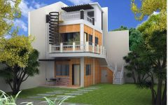 Modern House Plans With Photos In Nigeria With 2 Storey House Design In Usa With Timber Entrance In 2020 3 Storey House Design 2 Storey House Design Modern House Plans