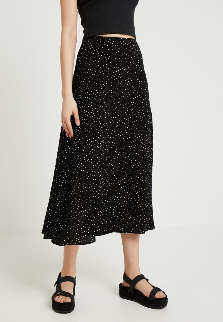 561abb9bcbdd SPOT SPLIT SIDE SKIRT - Maxi skirt - black @ Zalando.co.uk 🛒 in ...