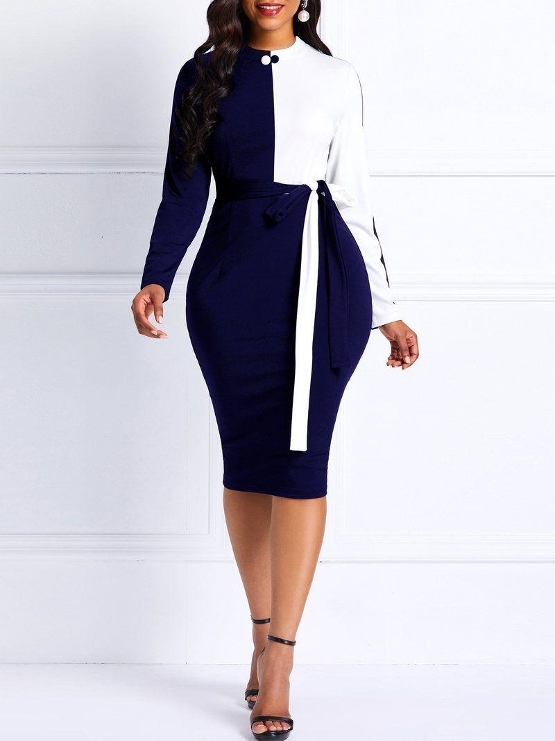 Glitter open back crisscross long sleeve bodycon dress – qianber