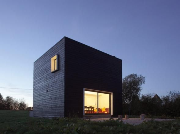 the House in the form of a cube in France