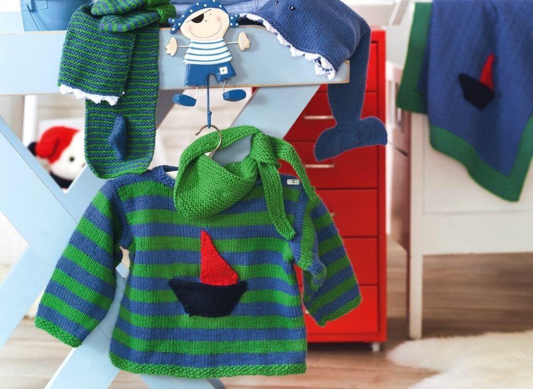 Kinder-Pullover mit Halstuch und Fingerpuppen | Pinterest ...