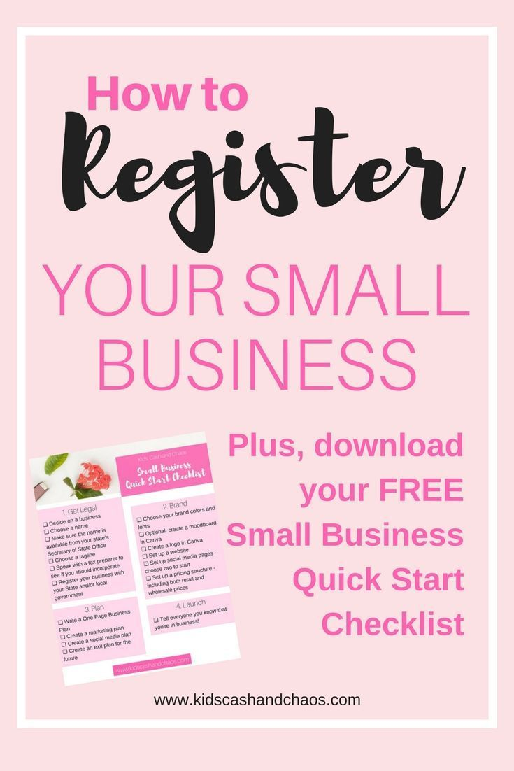 How To Register Your Small Business DonT Miss This Step When You