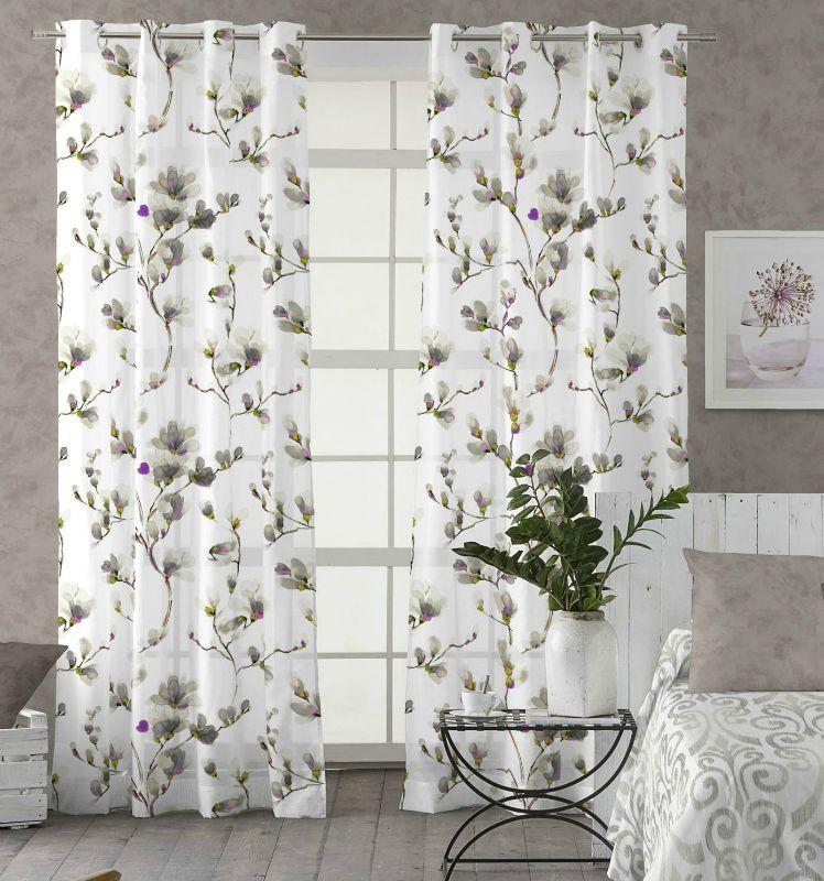 Cortinas de Flores | Visillos, Decoración de unas, Cortina