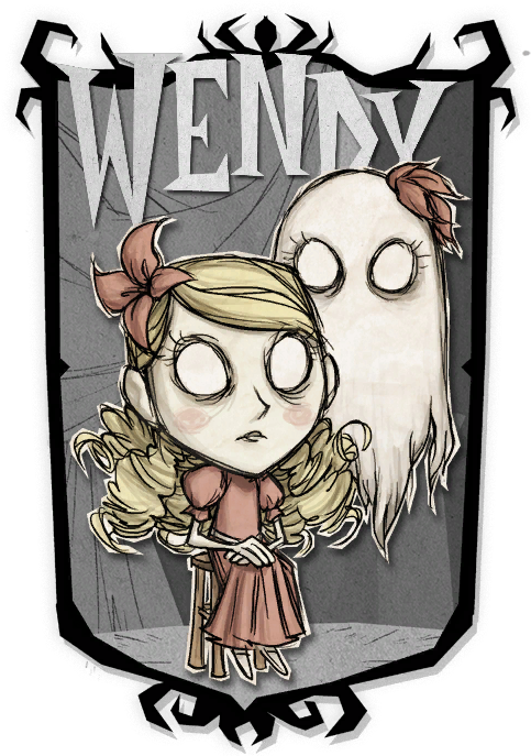 wendy amp abigail don�t starve together character
