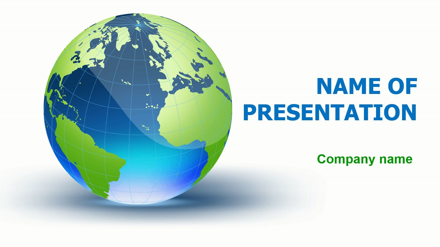 Blue globe powerpoint theme this beautiful and creative powerpoint this beautiful and creative powerpoint theme will be a great choice for presentations about geography global earth blue world etc toneelgroepblik Choice Image