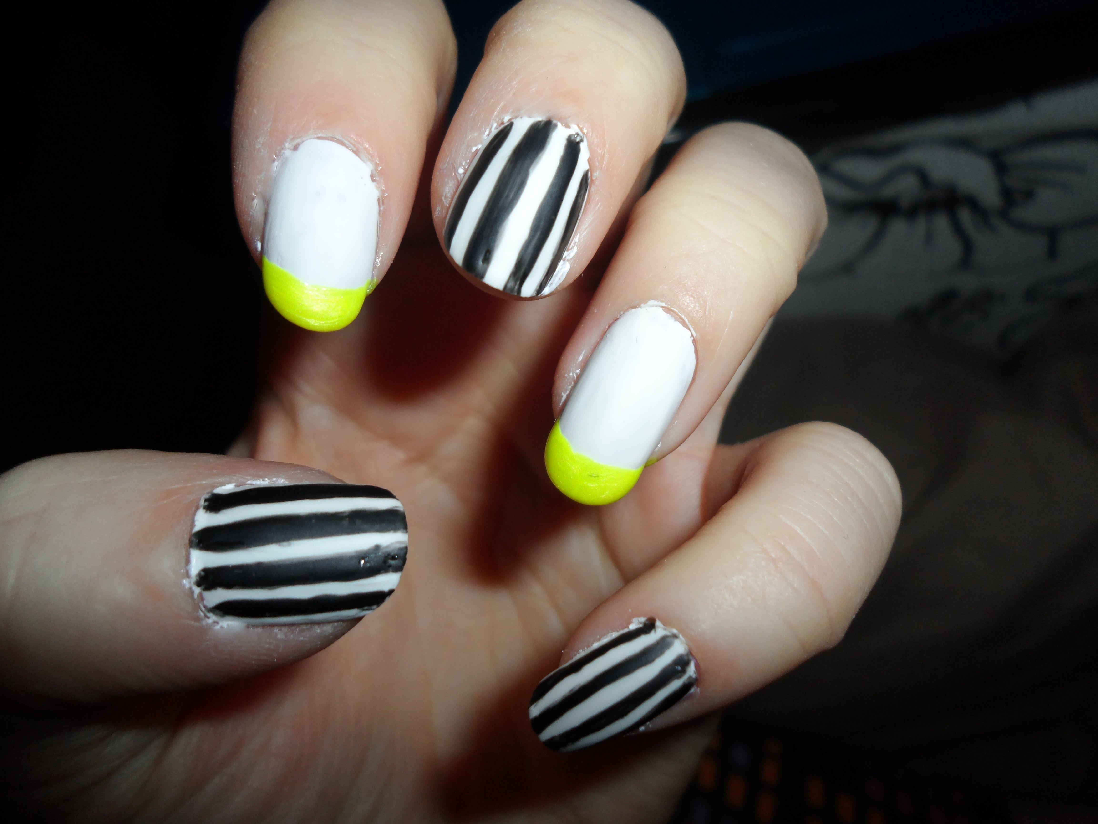 pinstripe/neon