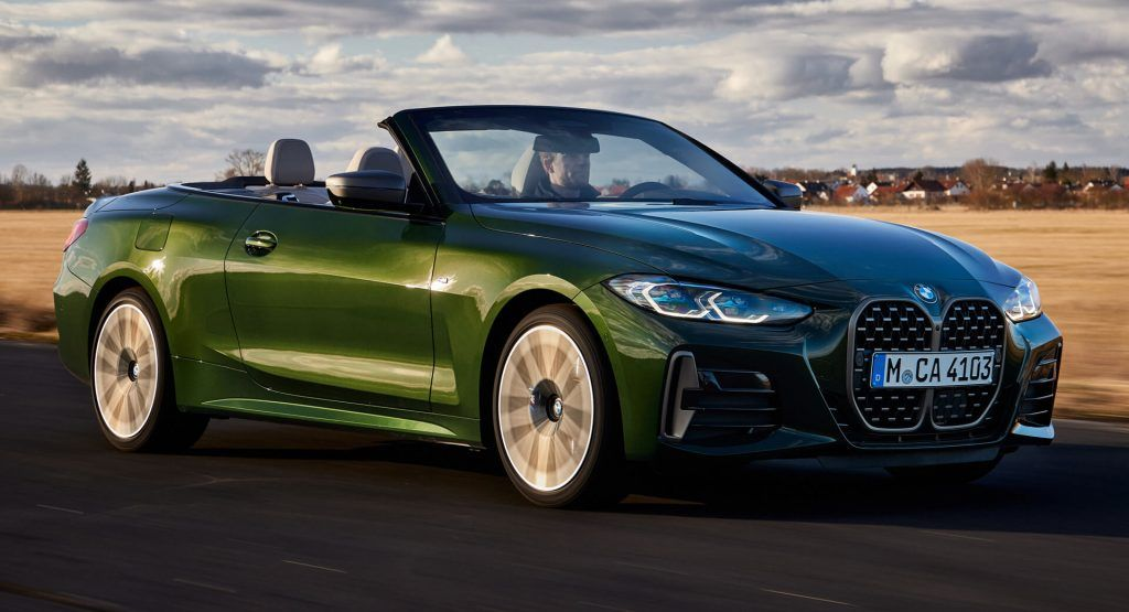 Check Out Every Inch Of The New 2021 Bmw 4 Series Convertible Carscoops In 2021 Bmw Bmw 4 Series Acura