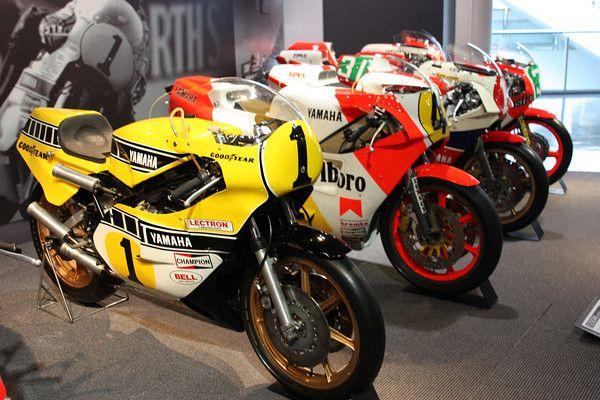Yamaha's YZ500 bikes