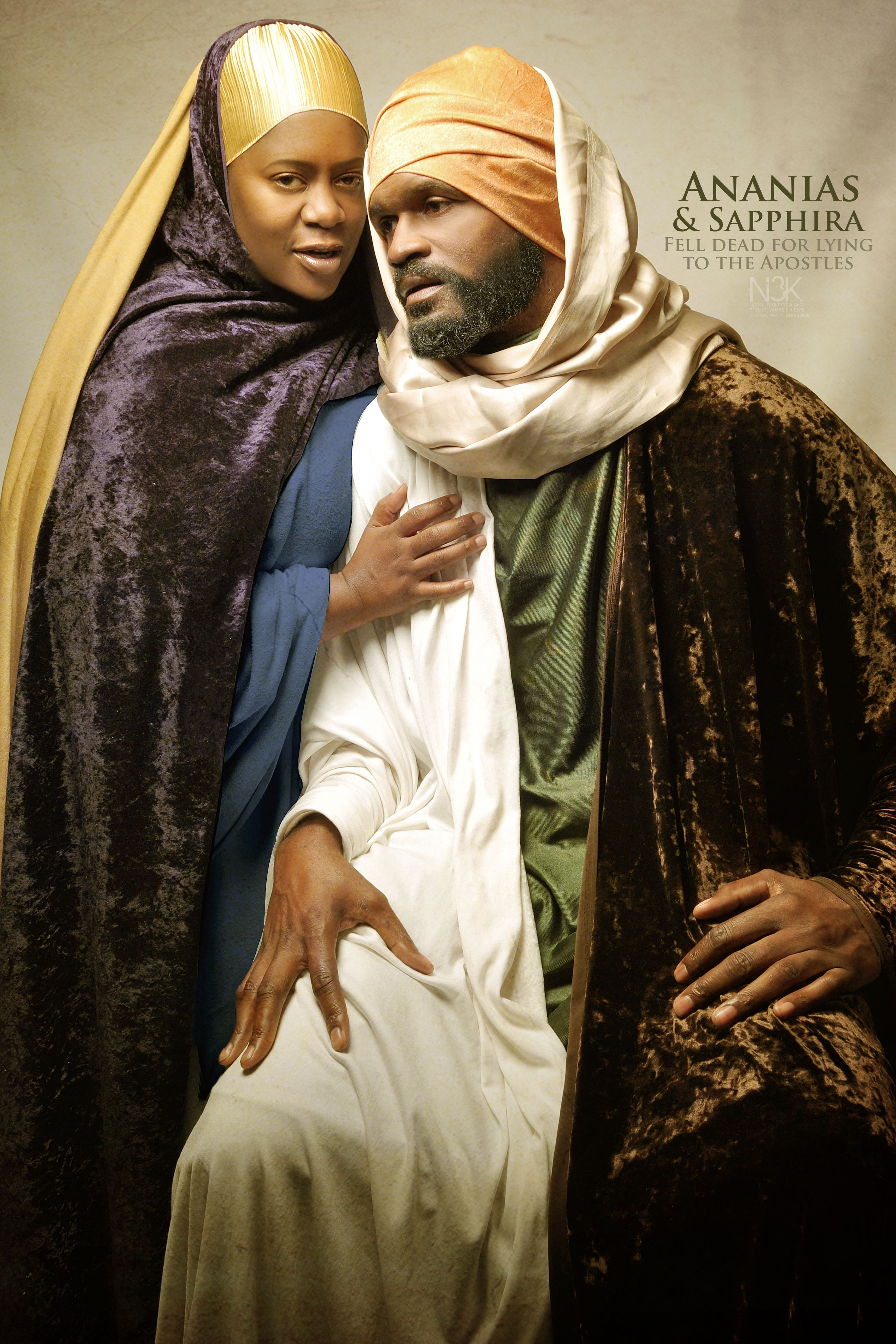 Ananias & Sapphira by International Photographer James C