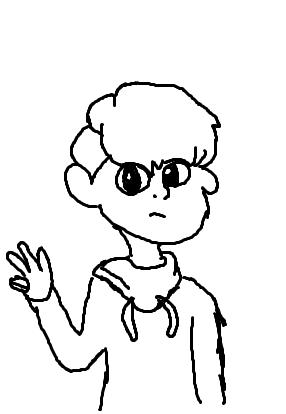 Trying to draw like other artists like @maddiejcortez
