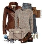 Cute Winter Outfits 2012 | Chestnut and Pastel