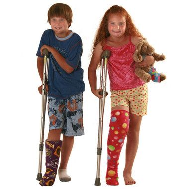 Comfortable Leg Cast Covers for Sleeping   Hailey   Cast covers leg