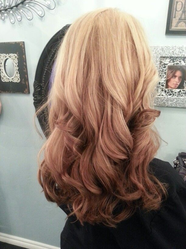 Reverse Ombre With Images Ombre Hair Color Ombre Hair Blonde