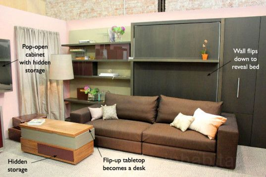 transforming furniture for small spaces. 5 Ultra-Useful Pieces Of Transforming Furniture By Resource For Small Spaces T