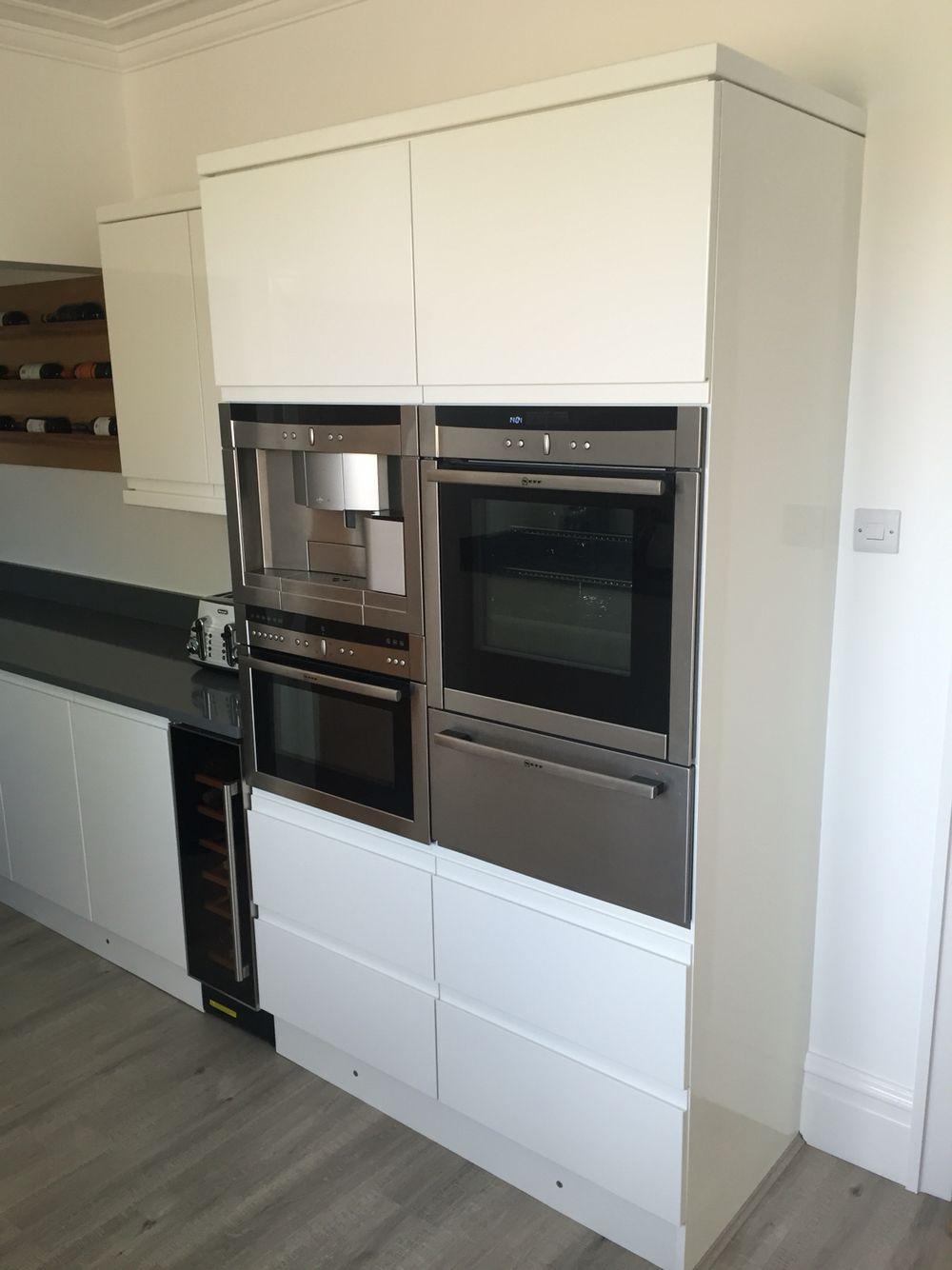 #Neff Coffee Machine, Slide U0026 Hide Oven, Warming Drawer U0026 Microwave Oven