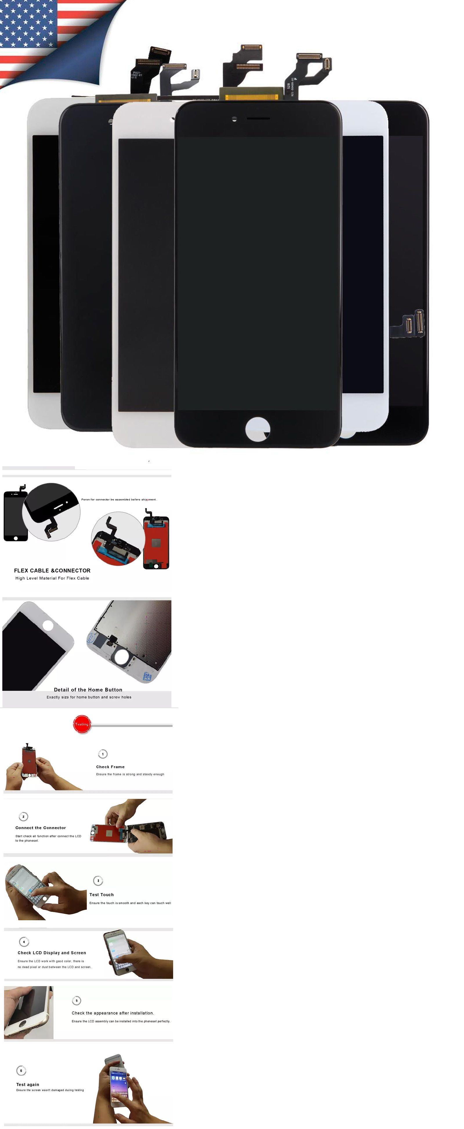 uk availability a7a3c 5d043 Cell Phone and Smartphone Parts 43304: Lcd Display Touch Screen ...