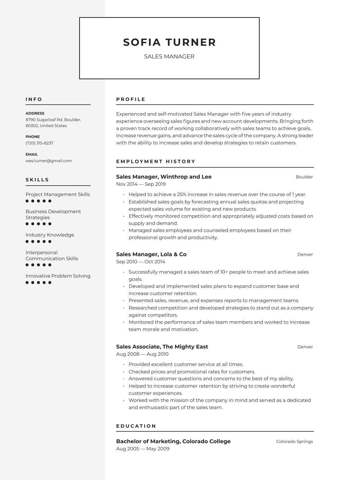 Resume Builder Resume Io Customer Service Resume Examples Free Resume Maker Customer Service Resume