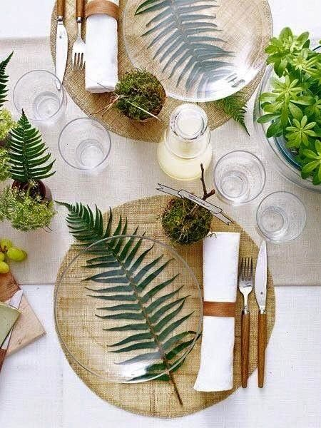 Leaf table with glass tops give a modern atmosphere to the beach Perfectionism   homestaging  Palm Leaf table with glass tops give a modern atmosphere to the beach Perfec...