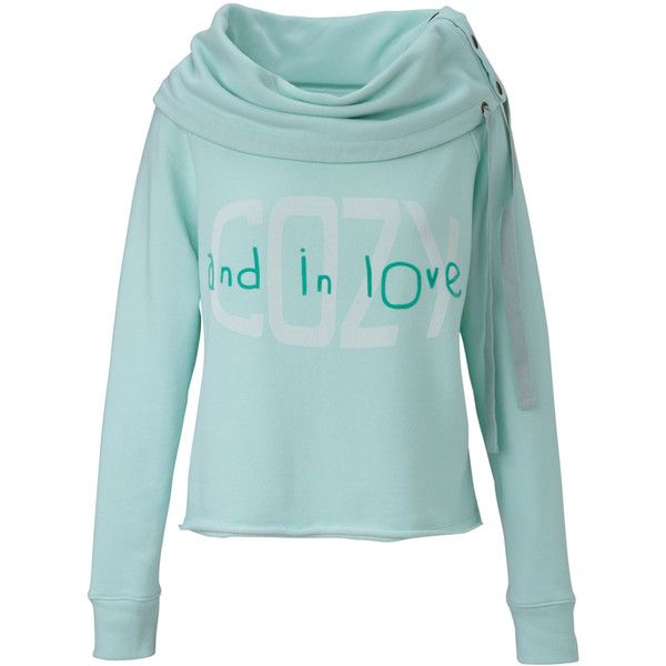 Conleys Blue Sweatshirt ($115) ❤ liked on Polyvore