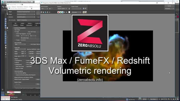 3DS Max / FumeFX / Redshift - Volumetric Render   Tips   3ds max