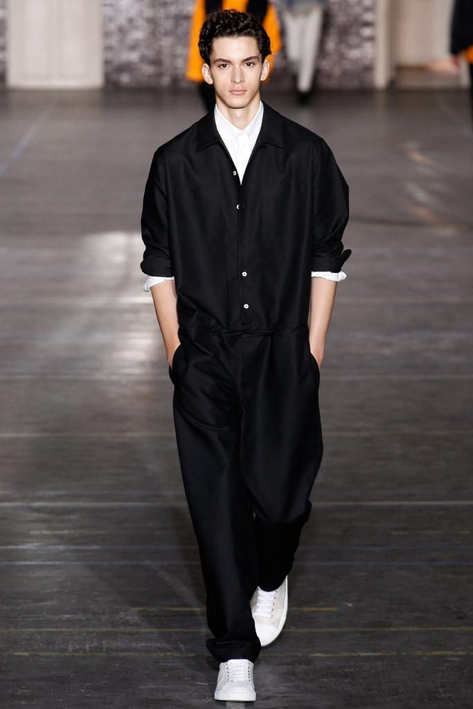 Ami Spring 2015 Menswear - Collection - Gallery - Look 1 - Style.com