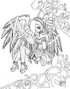 Gothic Coloring Pages For Adults Bing Images Fairy Coloring Pages Cartoon Coloring Pages Super Coloring Pages