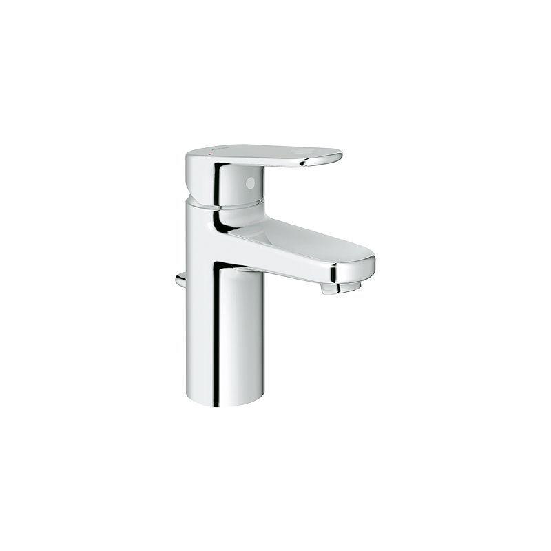 Grohe 33 170 Europlus Single Hole Bathroom Faucet with SilkMove ...