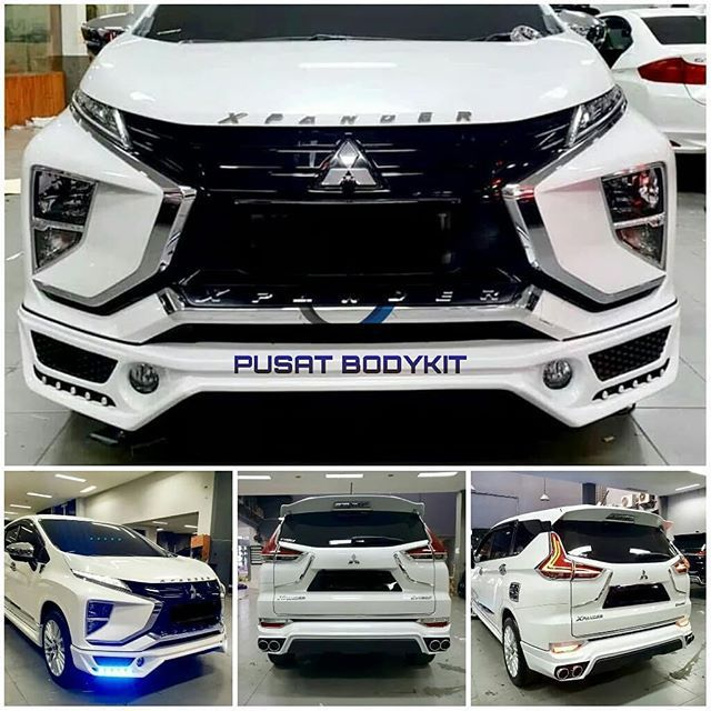 Modifikasi Bodykit Xpander Addon Bumper Depan Belakang Kendaraan Mobil Mesin