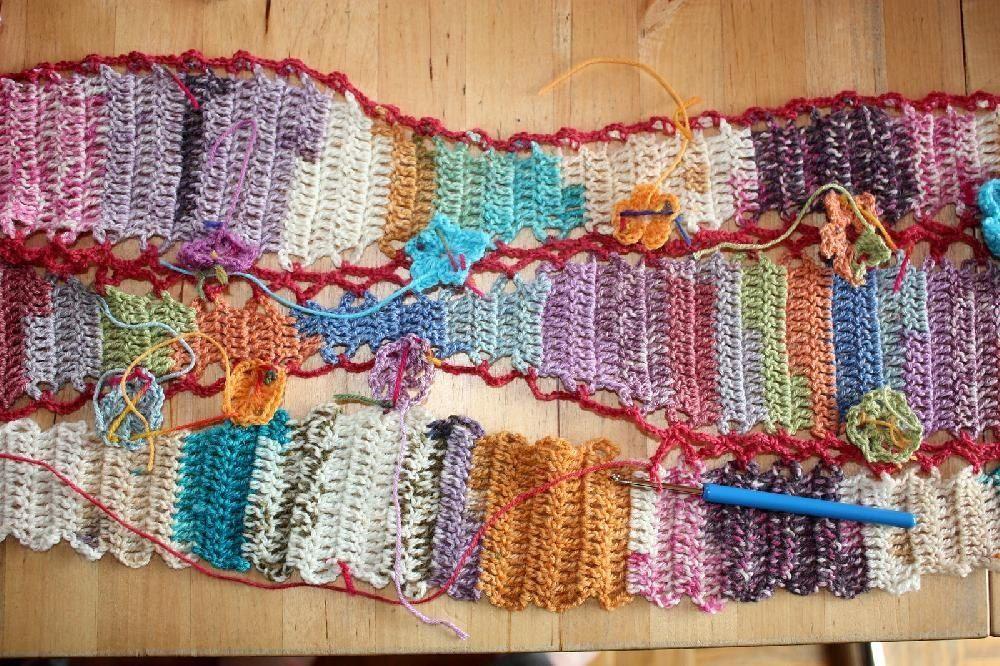 Flowers-freeform-crochet Crochet pattern by Bonita ...