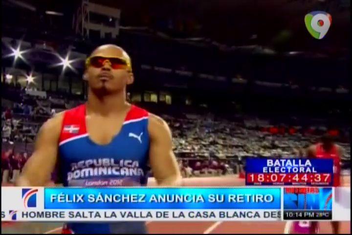 Felix Sánchez Anuncia Su Retiro