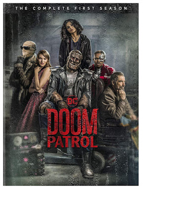 Dvd Blu Ray Doom Patrol Season 1 Doom Patrol Doom Dvd