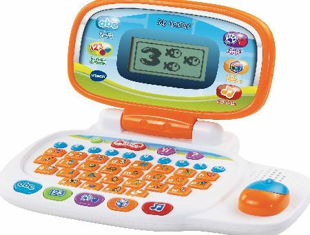 VTech - My Laptop Join the cheeky monkey who guides as a helper and friend throughout the 30 engaging activities http://www.comparestoreprices.co.uk/educational-toys/vtech--my-laptop.asp