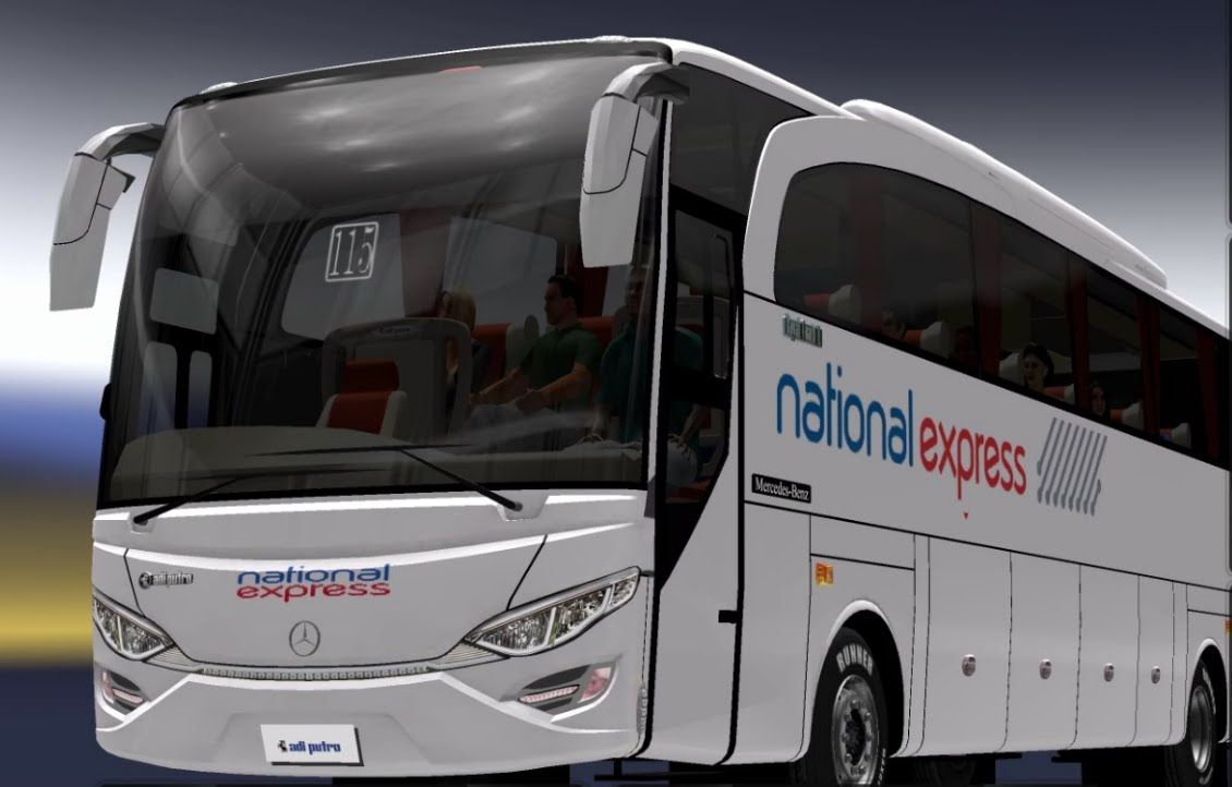 The Virtual Journey using ETS 2, Jetbus Mod and National