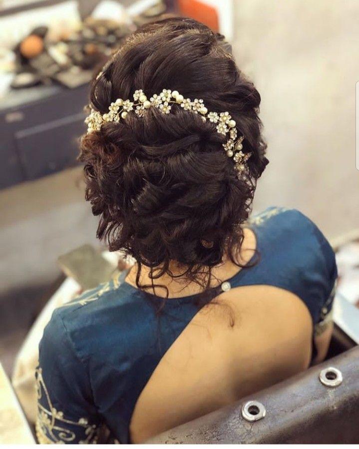 Pin By Kavya Reddy On Bridal Hair Style Mom Hairstyles Bridal Hair Buns Traditional Hairstyle
