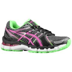 ASICS® Gel - Kayano 19 - Women's - Black/Electric Pink/Apple -