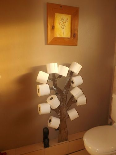 Tree Toilet Roll Holder Want This