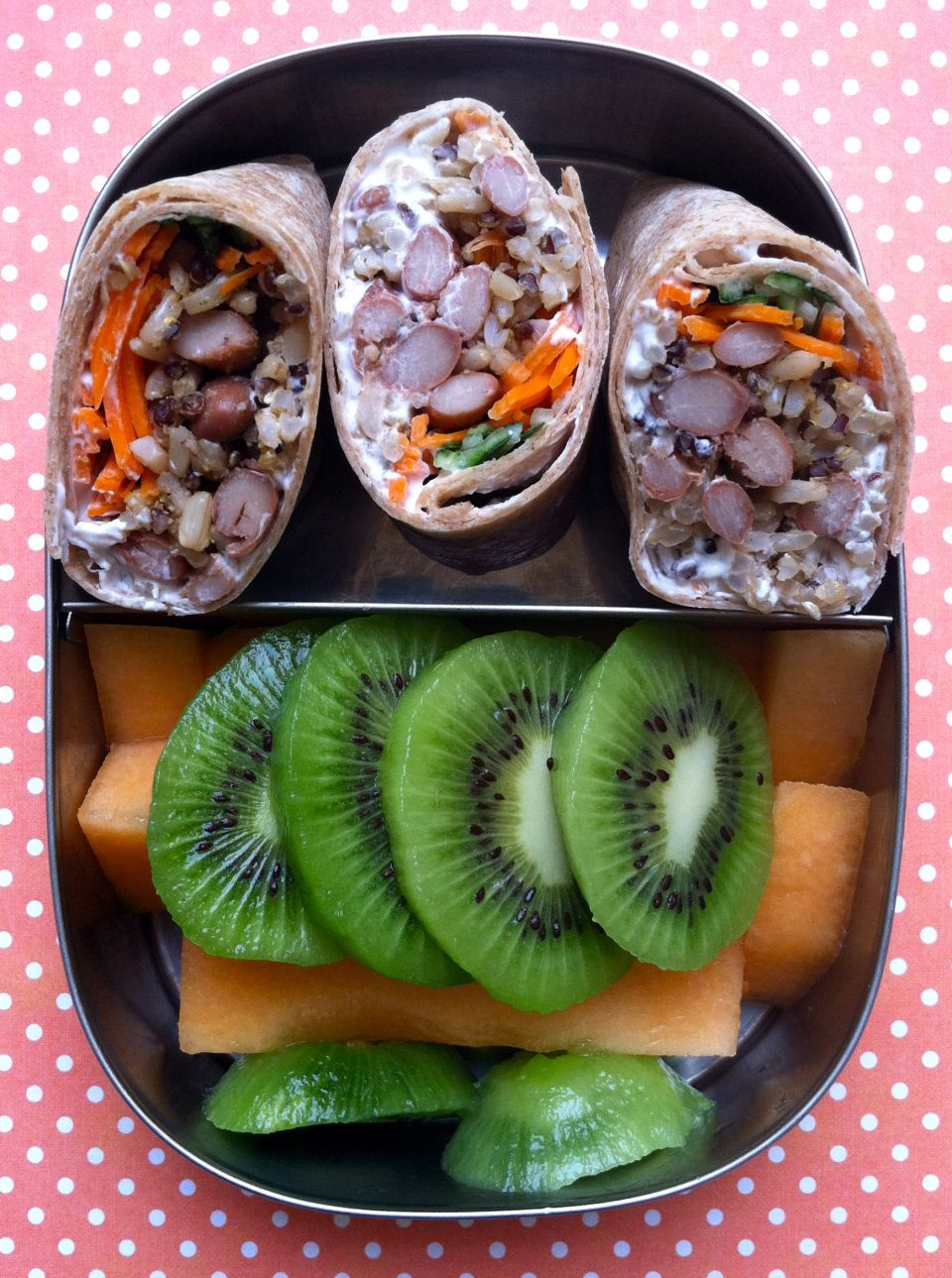 Pinto Bean And Rice Wraps Bento Box Lunches Vegan Lunch