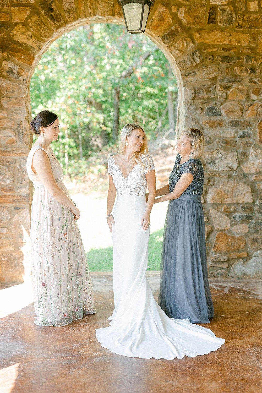Blush And Merlot Wedding At Montaluce Winery In 2020 Winery Wedding Dress Merlot Wedding Bridesmaid Getting Ready