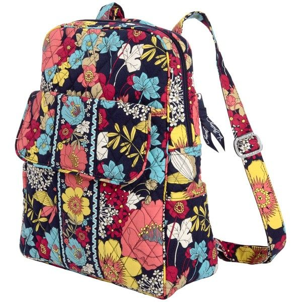 d9433ca151 Vera Bradley Backpack ( 70) ❤ liked on Polyvore