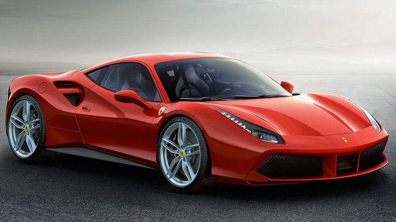 Aerodynamic Ferrari 488 Gtb Sportscar Races From 0 60 Mph In 3 Seconds Supercars Ferrari 458 Ferrari