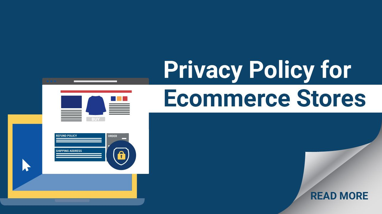 Privacy Policy For Ecommerce Stores Ecommerce Privacy Policy Policies
