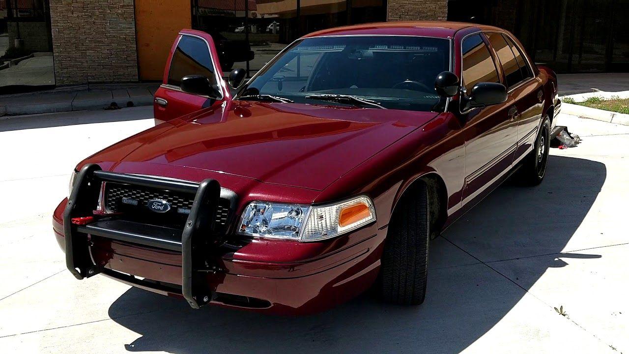 2011 Ford Crown Victoria Police Interceptor With 37k Original