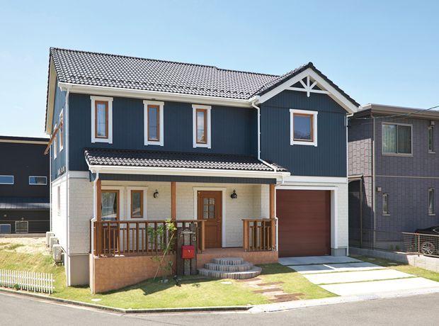 実例紹介 スウェーデンハウス名古屋支店 小さな家の外観