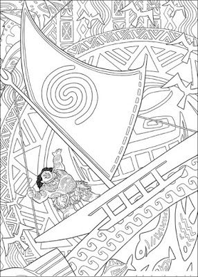 Desenhos De Moana Princesa Disney Para Colorir Pintar Imprimir
