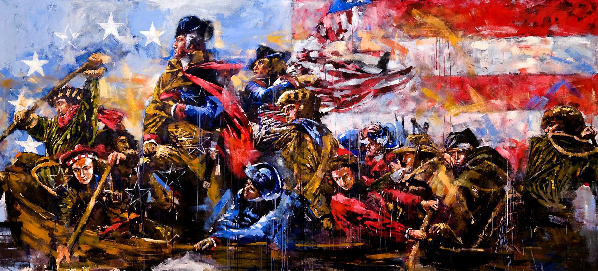 Pin By K Lowe On Presidents Art Steve Penley Painting