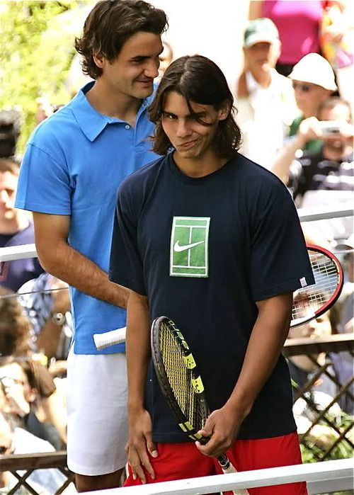Young Otp 3 Rafael Nadal Tennis World Roger Federer