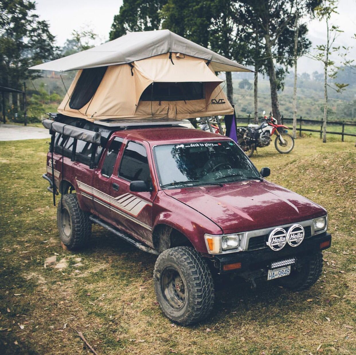 Roof top tent Toyota Tacoma
