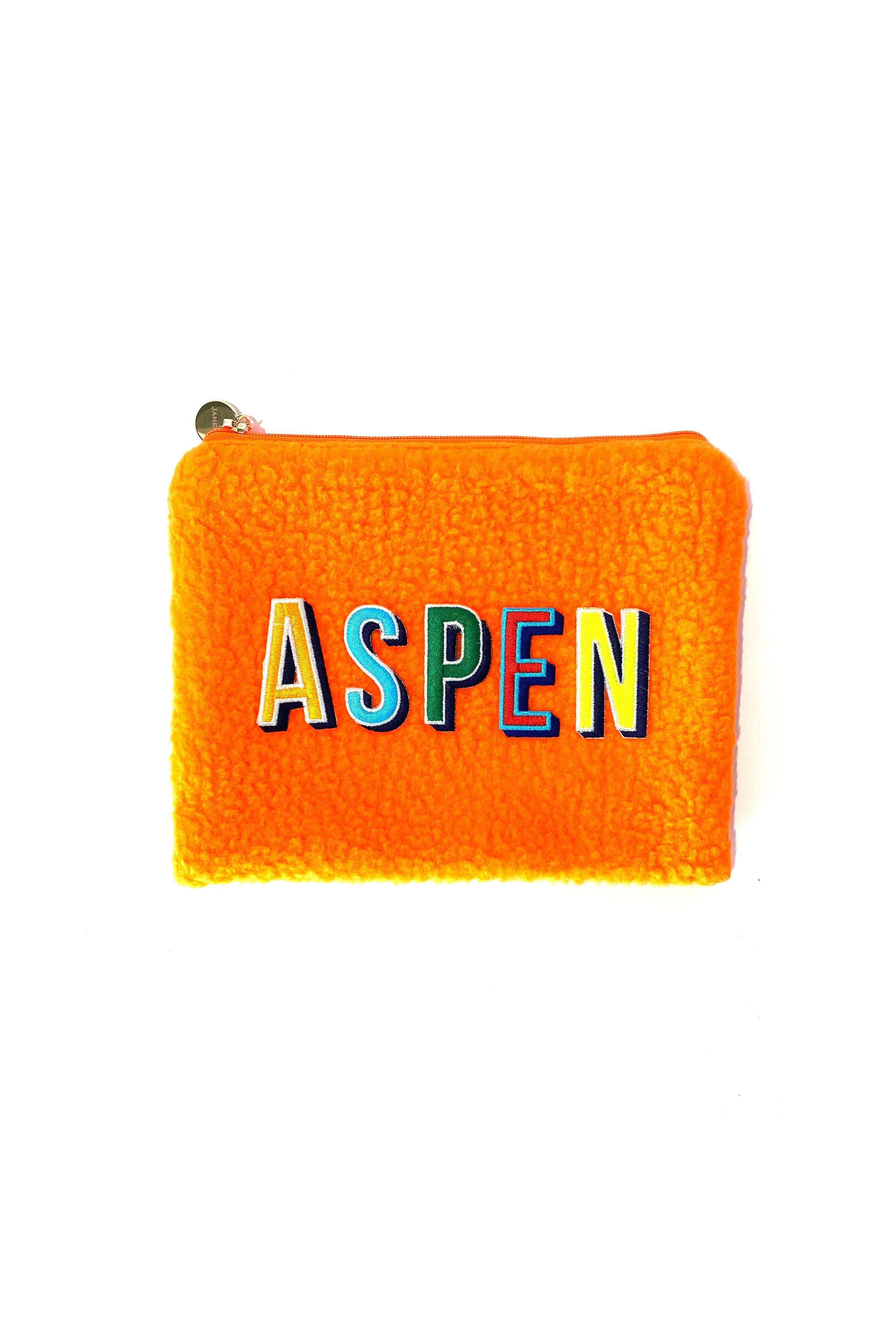 Aspen Make-up Beutel in Orange