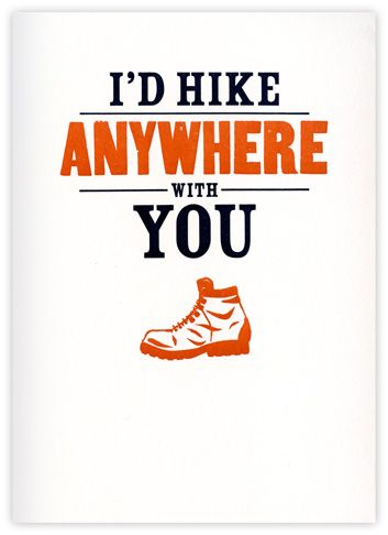 manly valentines day card for my manhike anywhere - Manly Valentine Gifts