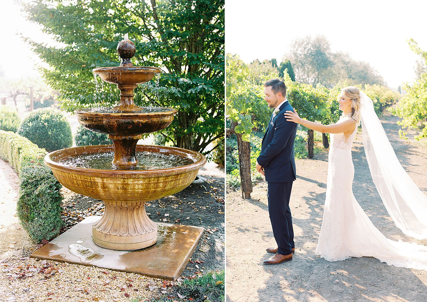 Vintners Inn Wedding With Cambria Events Featured On Style Me Pretty In 2020 Film Wedding Photography Napa Wedding Sonoma Wedding